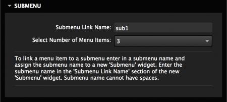 Link submenus