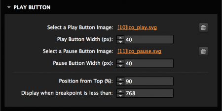 Add a play and pause button
