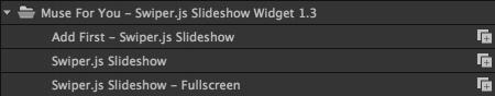 Add a fullscreen slideshow or custom size