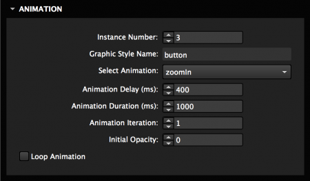 Choose from 139+ Animations