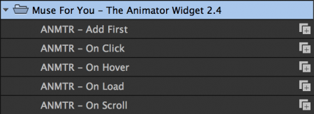 Animate on load, hover, click, or scroll