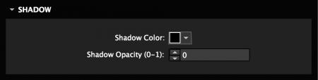 Set Lightbox shadow