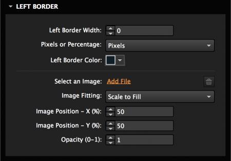 Add a color border