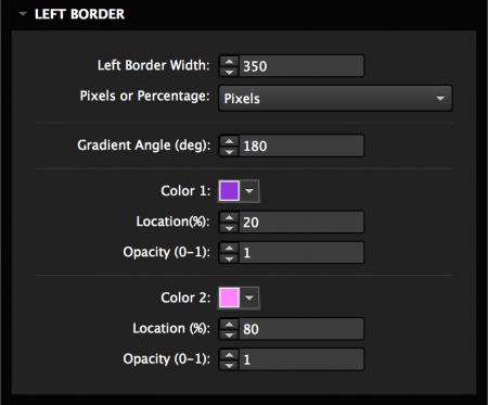 Add a gradient border
