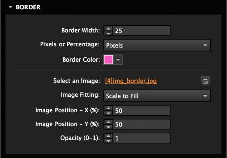 Add an image border