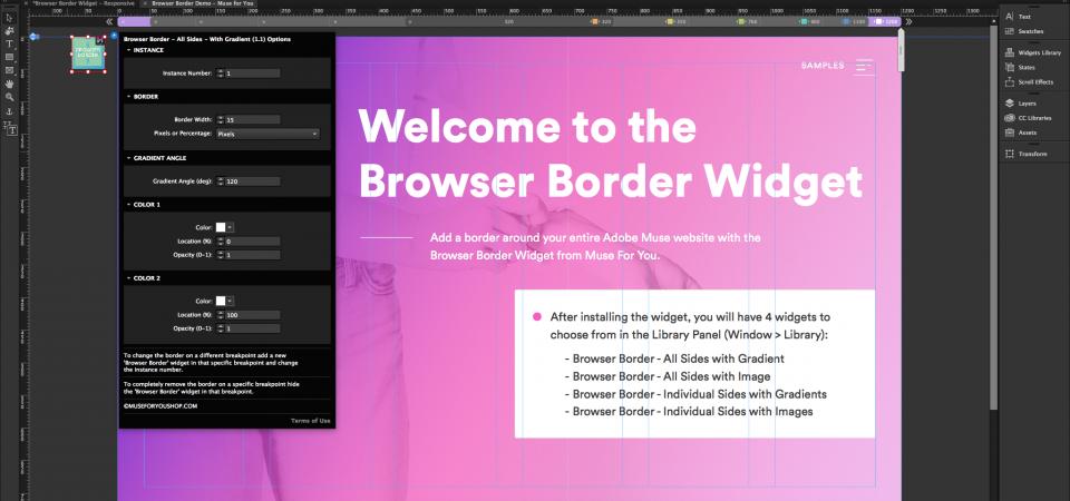 Browser Border