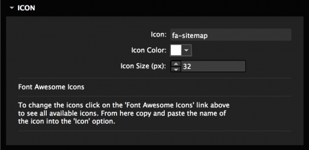 Choose from over 600+ Font Awesome Icons