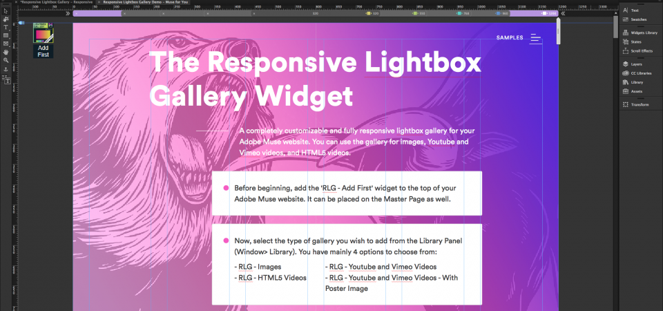 Responsive Lightbox Gallery