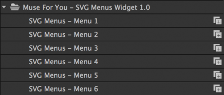 Choose from 6 different menus